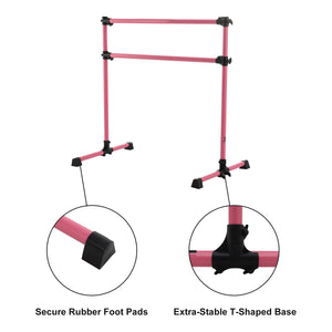 comfortable ballet bar for home gym