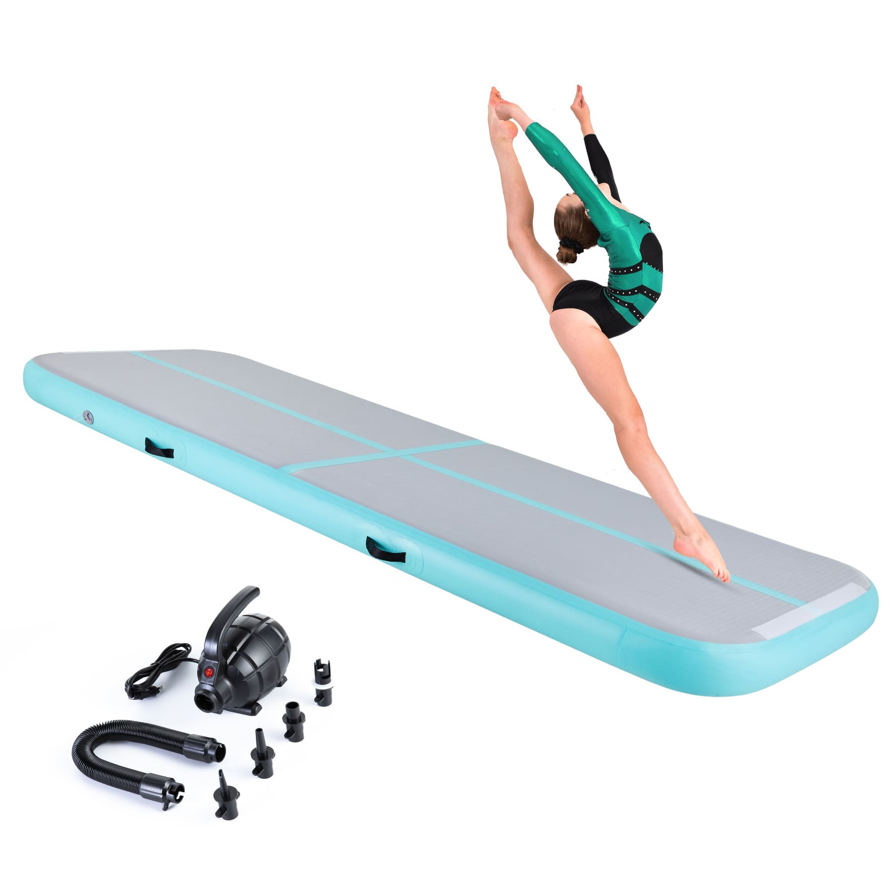 gymnastics performance training mat