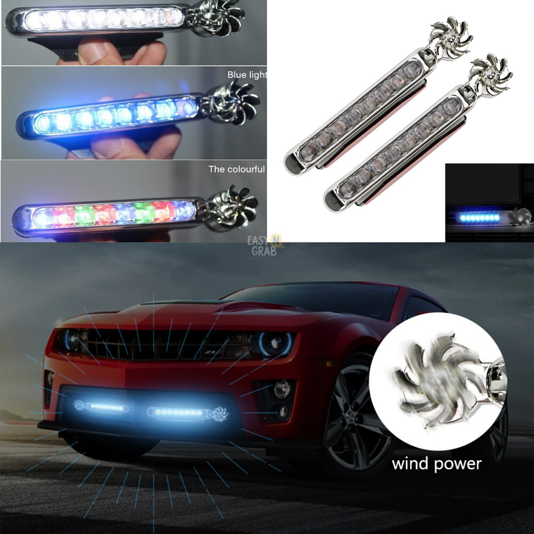 Ultimate Car Wind-Powered LED Headlight