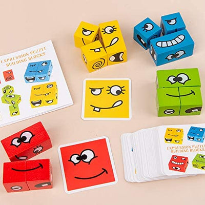 Montessori Expression Block Puzzle