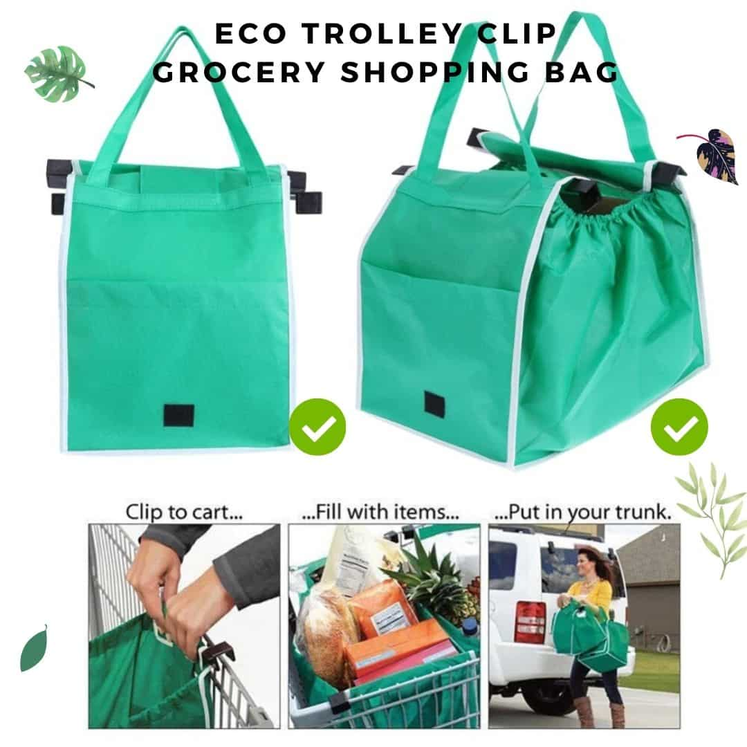 Eco-Friendly Fordable+Reusable Grocery Bags