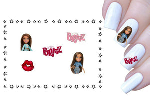 Bratz waterslide nail decals - Nails Creations