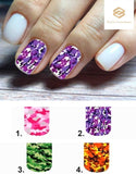 Camo Camouflage Full Nail Decals Stickers Water Slides Nail Art