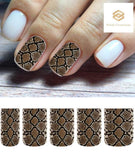 Snake Skin Full Nail Decals Stickers Water Slides Nail Art - Nails Creations