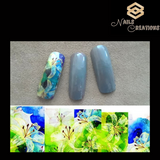 Floral Design Full Nail Art Waterslide Decals - Nails Creations