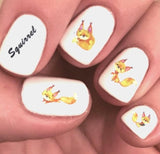 Squirrel Waterslide Nail Art Decals - Nails Creations Designs - Nails Creations
