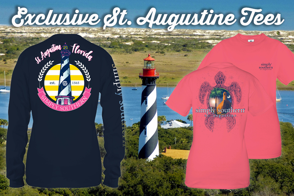 Simply Southern Exclusive St Augustine Tees