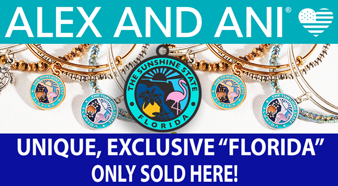 Exclusive Alex and Ani Florida Bangle