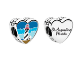 Pandora St Augustine Lighthouse Heart Charm