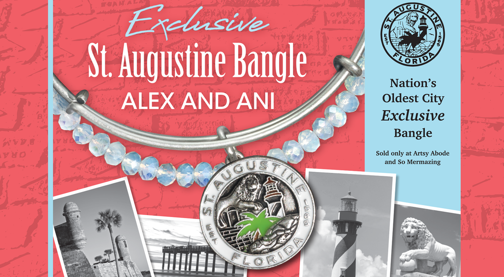 Exclusive Alex and Ani St Augustine Bangle