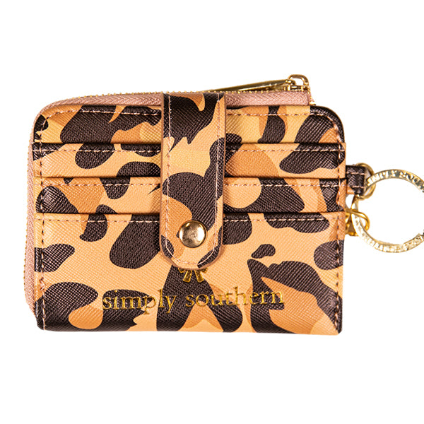 Simply Southern Leather Key ID Leopard - Artsy Abode