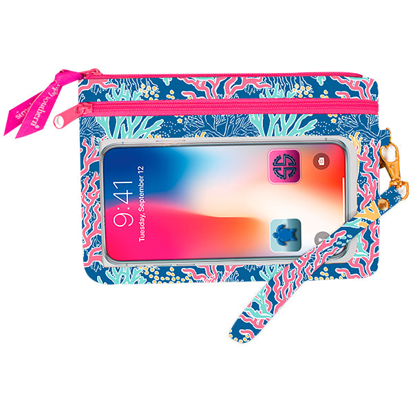 Simply Southern Phone Wristlet -Reef - Artsy Abode