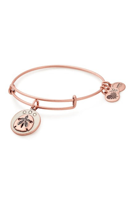 Alex and Ani - Color Infusion Sand Dollar Bracelet - Rose Gold - Artsy Abode