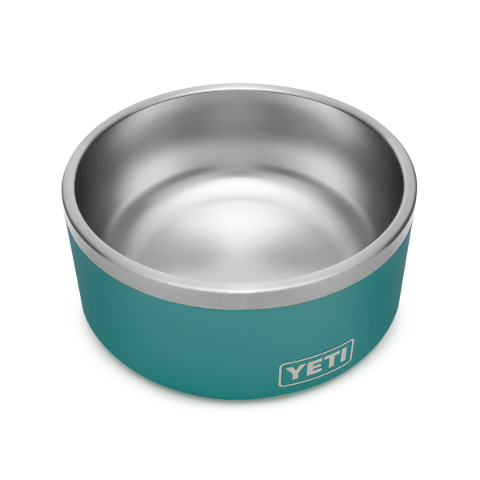 Yeti Boomer 8 Dog Bowl River Green - Artsy Abode