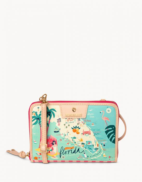 Spartina 449 Florida All-In-One Phone Crossbody