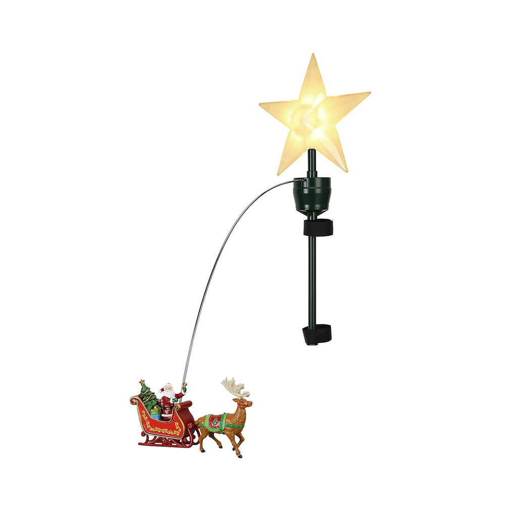 Mr Christmas Animated Topper - Santa's Sleigh - Artsy Abode