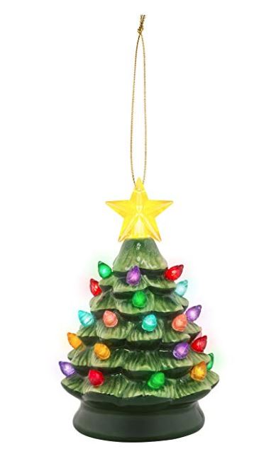 "Mr Christmas 5.5"" Nostalgic Xmas Tree - Green - Artsy Abode"
