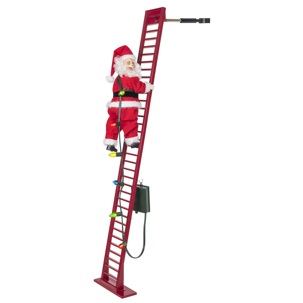 Mr Christmas Indoor/Outdoor Deluxe Super Climbing Santa - Artsy Abode