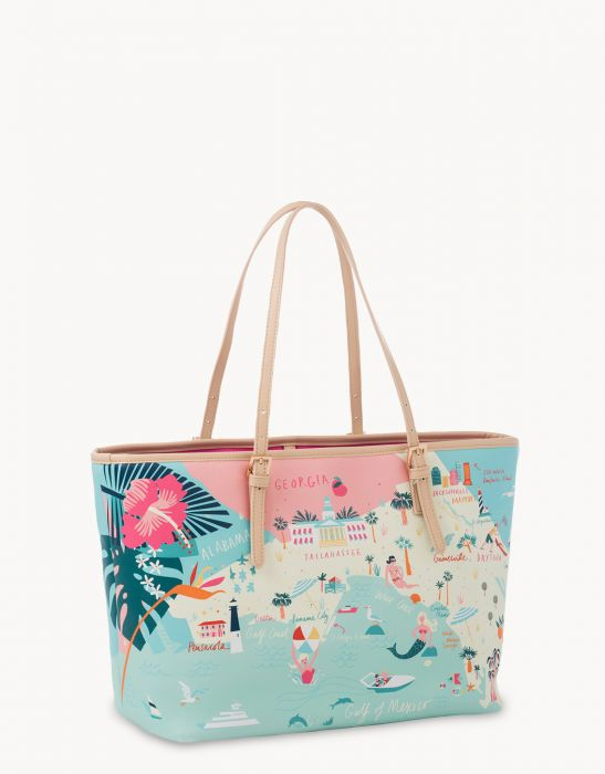 Spartina 449 Florida Map Tote - Artsy Abode