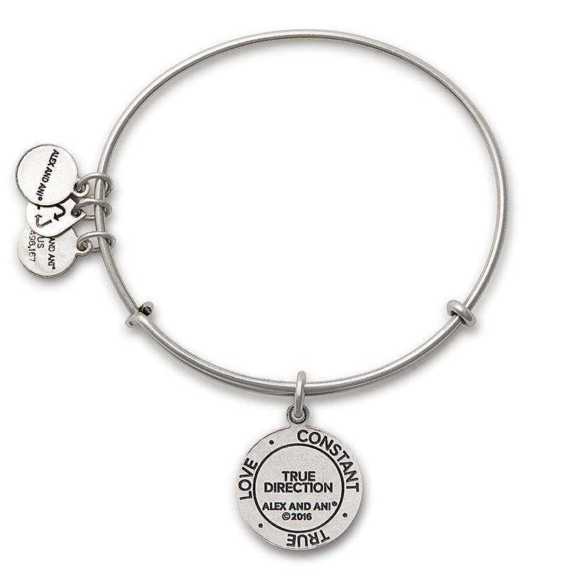 Alex and Ani - True Direction Bracelet - Rafaelian Silver - Artsy Abode