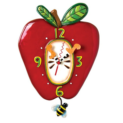 Allen Designs - Apple Clock - Artsy Abode
