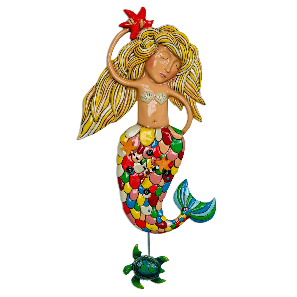 Allen Designs - Artsy Mermaid Xl Clock - Artsy Abode