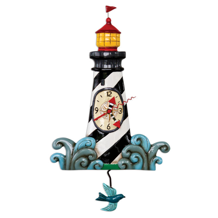 Allen Designs - Augie's Lighthouse Clock - Artsy Abode
