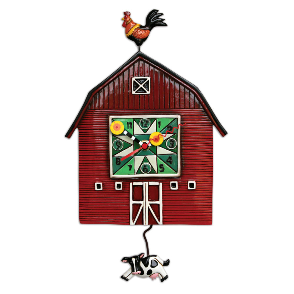 Allen Designs - Barn Yard Clock - Artsy Abode