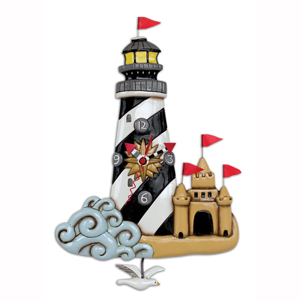 Allen Designs - Beacon Lighthouse Clock - Artsy Abode