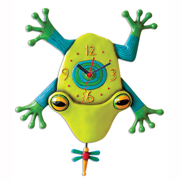 Allen Designs - Big Croak Clock - Artsy Abode