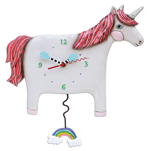 Allen Designs - Buttercup The Unicorn  Clock - Artsy Abode