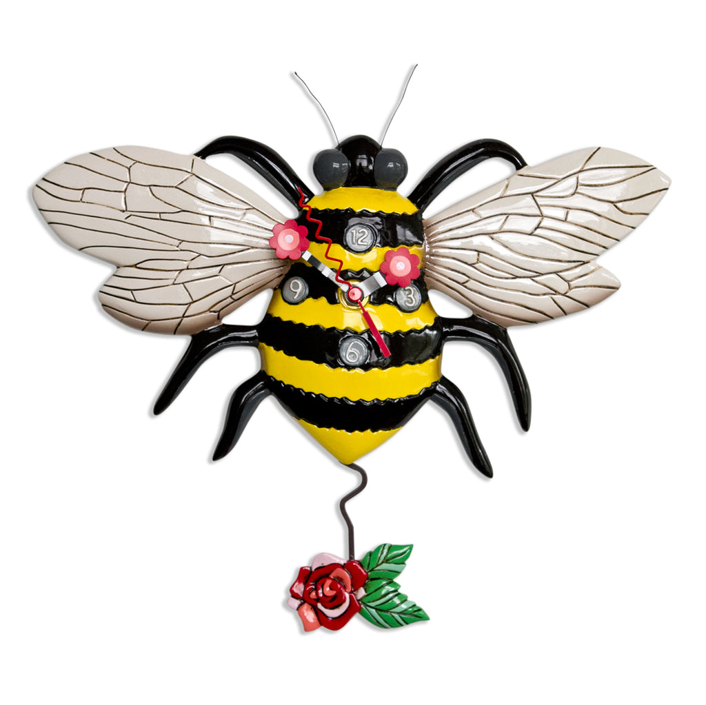 Allen Designs - Buzz Bee Clock - Artsy Abode