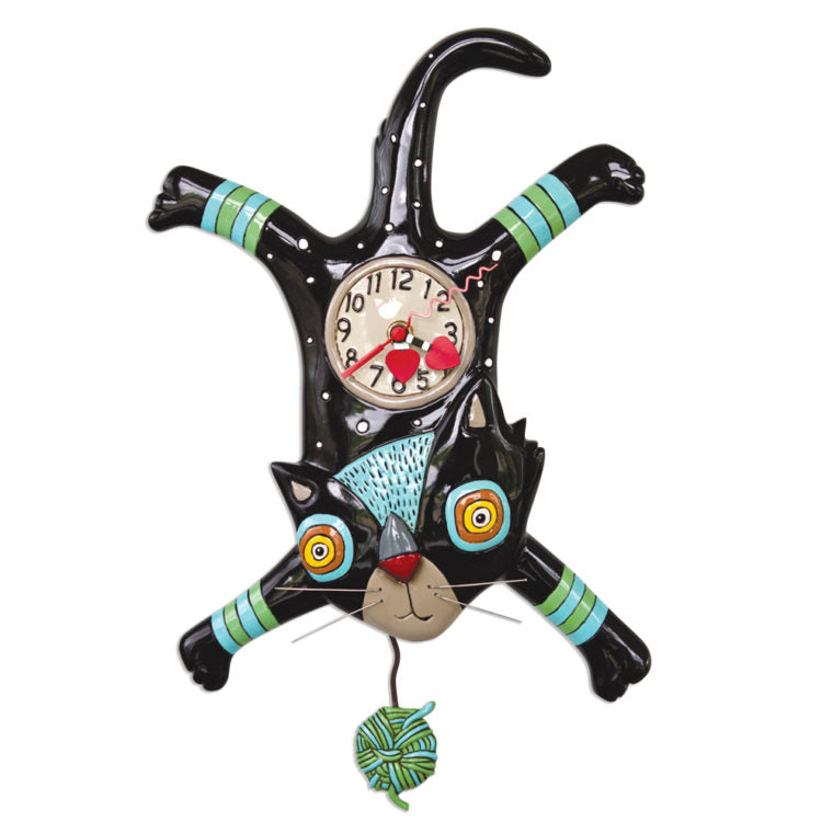 Allen Designs - Craft Attack (Cat) Clock - Artsy Abode