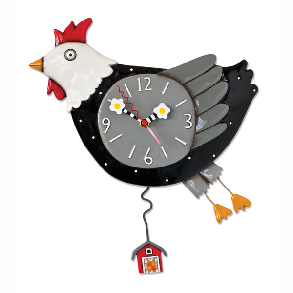 Allen Designs - Flew The Coop Clock - Artsy Abode