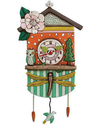 Allen Designs - Forest Friends Clock - Artsy Abode