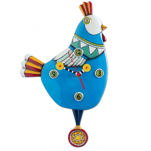 Allen Designs - Funky Chicken Blue - Artsy Abode