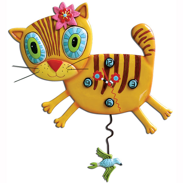 Allen Designs - Kimi Kitty Clock - Artsy Abode