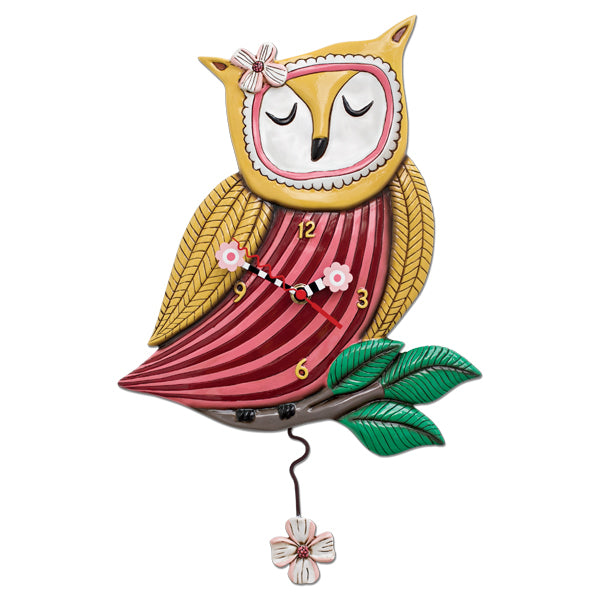 Allen Designs - Pretty Wise (Owl) Clock - Artsy Abode