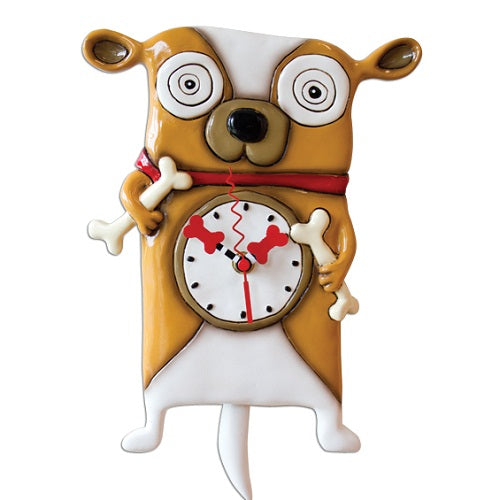 Allen Designs - Roofus Dog Clock - Artsy Abode