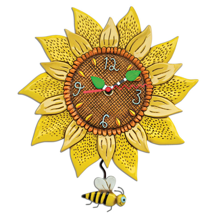 Allen Designs - Sunflower Clock - Artsy Abode
