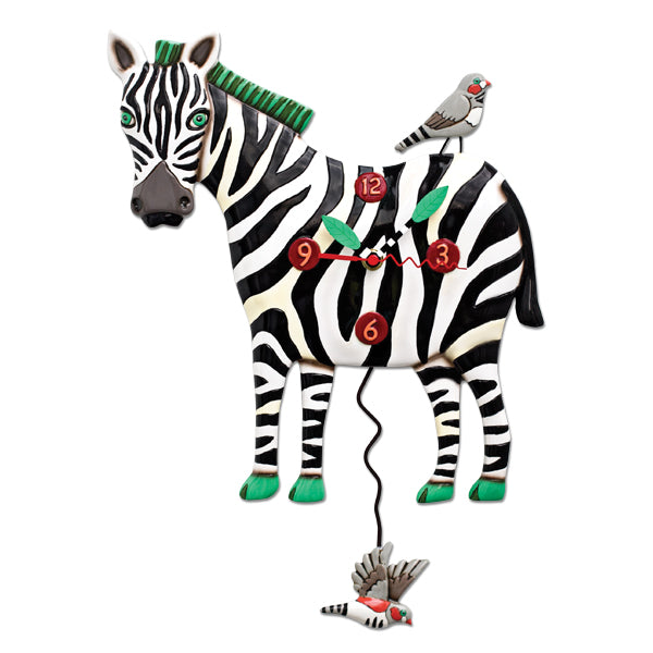 Allen Designs - Zeb The Zebra Clock - Artsy Abode