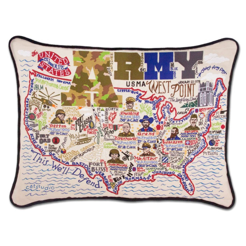 Catstudio - Army Pillow - Artsy Abode