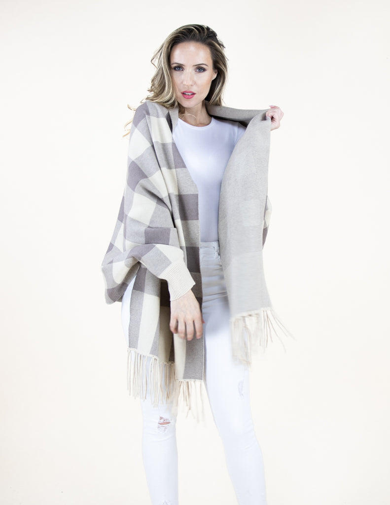 Shrap shawl-sweater-wrap - Artsy Abode