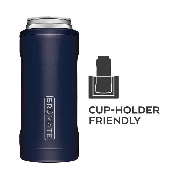 BRUMATE HOPSULATOR SLIM CAN-COOLER - MATTE BLACK