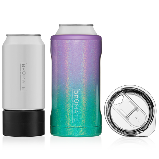 BRUMATE HOPSULATOR TRIO 3-IN-1 CAN-COOLER - GLITTER MERMAID