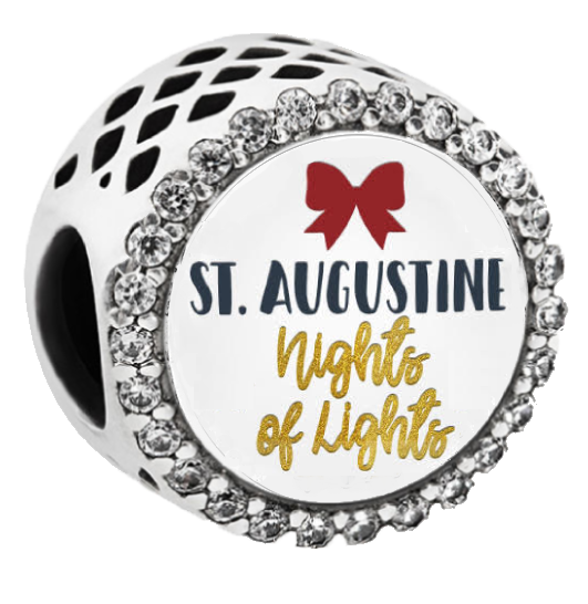 Pandora St Augustine Nights of Lights Button Charm - Artsy Abode