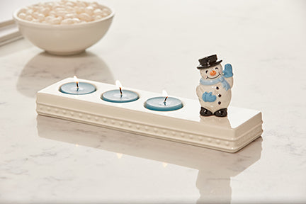 Nora Fleming 3 Count Tealight Holder - Artsy Abode