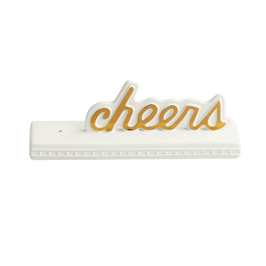 Nora Fleming - Cheers Sign - Artsy Abode