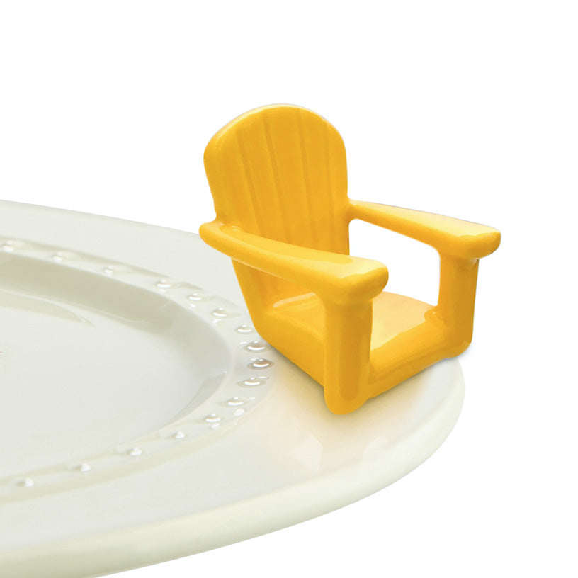 Nora Fleming Yellow Adirondack Chair - Artsy Abode