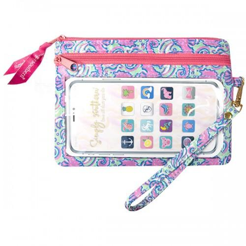 Simply Southern Phone Wristlet -Seahorse - Artsy Abode